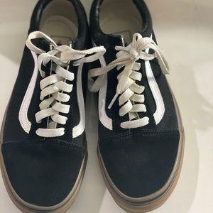 Vans Shoes - Old School Vans Gum Bottoms